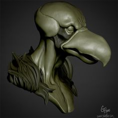 Vultureman sculpt in progress. Thundercats, Sculpting, Lion Sculpture, Statue, Cartoon, Boys, Animals, Baby Boys, Sculpture