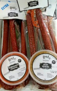 Volvemos a tener, en #Vegaestar #Córdoba,  los productos de #Avus con una novedad. Chorizo Extra con un toque picante y ahumado.   #vegan #govegan #veggiefood #loveanimals #veggielicious