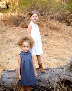 {for mia bean} whitten grey organic dresses