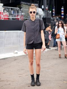 Street Style at the Governors Ball 2013, Tatiana
