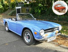 World Of Classic Cars: Triumph TR6 1974 - World Of Classic Cars -