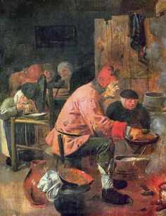 The Pancake Baker — Adriaen Brouwer