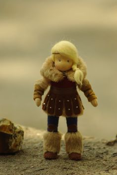Astrid++How+to+Train+Your+Dragon//+waldorf+doll+//+by+TaleWorld