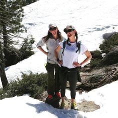 My hiking buddies!  #hiking #Tahoe #saltsmansisters #jacqueis40 (almost)