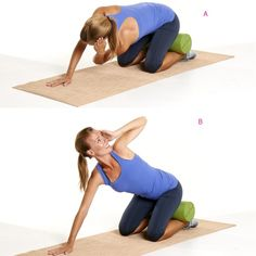 Mobility: T-Spine Rotation  http://www.prevention.com/fitness/strength-training/anti-aging-workout-routine-and-exercises/slide/9