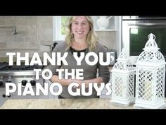 """A huge thank you to The Piano Guys for using products from Lights For All Occasions in their YouTube video called """"Arwen's Vigil."""" #thepianoguys #arwensvigil #candlelantern #thankyou"""