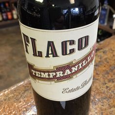 Flaco Tempranillo from Spain, our #thirstythursday feature, is a tremendous food wine that shines by itself as well.  One of our weekly wine tasting selections, this 90 Pointer is available this week for $8.99!  RUN...don't walk to pick this one up. Be careful, though. The sidewalks are a bit slippery today!  #wineoftheday #flacotempranillo #spanishwine #winelover #winetime #bagandstringswinemerchants #lakewoodny #cheers