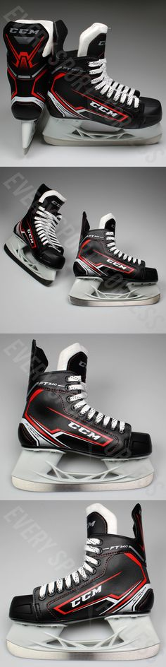 Ice Hockey-Youth 26342: Ccm Jetspeed Ft340 Junior Ice Hockey Skate - Sk340j (New) -> BUY IT NOW ONLY: $59.99 on eBay!