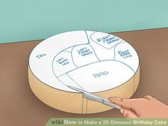 Image titled Make a 3D Dinosaur Birthday Cake Step 8
