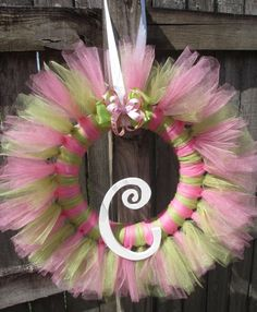 Tulle Tutu Ballerina Princess Wreath with