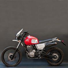 Hook Motors' NX650 by Totti   Inazuma café racer