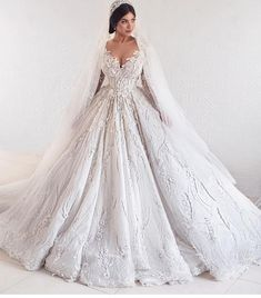 We make custom wedding dresses for all sizes.  If your dream dress is out of your prie range we can also make a #replica of any couture design.  Our version will have the same style & look but for less.  Email us directly for pricing.  DariusCordell.com