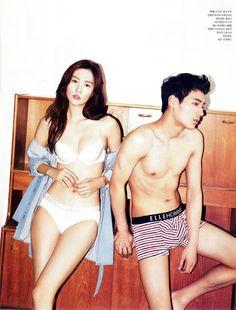 2013 July Elle        Model. Shon Min-Ho.