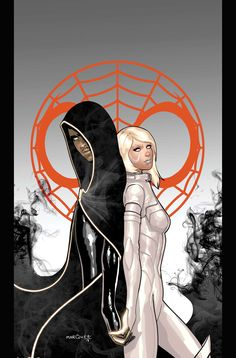 Cloak & Dagger by David Marquez from Ultimate Comics Spider-Man #24.  It's hard to tell, but I think they finally got Tandy into a costume that isn't completely ridiculous.