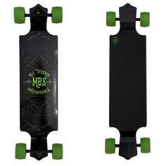 "Atom MBS All-Terrain 39"" Drop Down Longboard Drop Deck Longboard, Atom Longboards, Cruiser Skateboards, 13 Year Old Boys, Water Tube, Outdoor Gazebos, Radio Flyer, Electric Skateboard, Mbs"