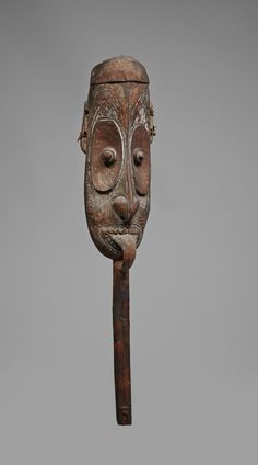 A SEPIK HEAD New Guinea, Auktion 1045 Afrikanische und Ozeanische Kunst, Lot 153