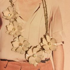 Talbot necklaces This necklace is so charming & feminine on. Well made materials from Talbots. New w/o tag. Talbots Jewelry Necklaces