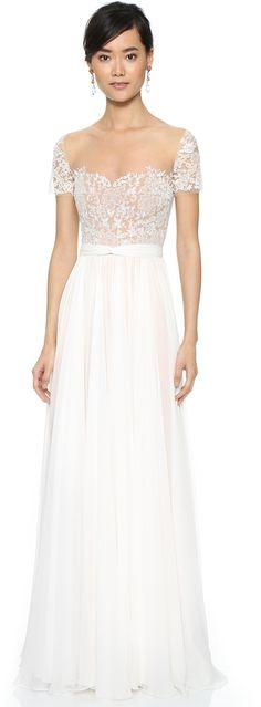 Reem Acra She's My Dream Dress