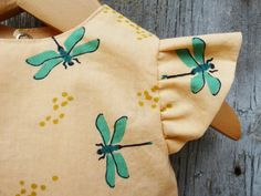 Organic baby dress Baby birthday dress Baby by KinderSprouts