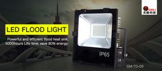 #LED FLOOD LIGHT;2. 4mm tempered glass panel to protect the lighting source, transparent rate up to 93%. http://gmkjled.com