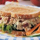 Apple Tuna Sandwiches - never thought about adding apple for crunch, but I hate celery so I'm going to try it!
