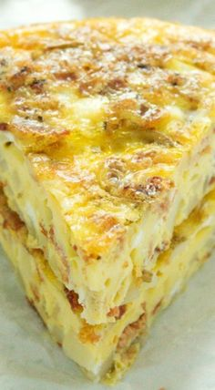 Potato Bacon Egg Breakfast Casserole