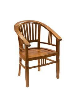 Sillon. Fabricado en madera de teca.  Sillón para las entradas, salón, recibidor, despacho, oficina, sala de espera...