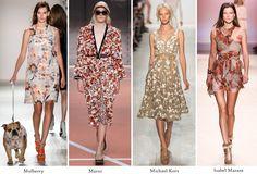 Sara Pink partage avec nous les tendances de l'été 2014 sur trendle.net !! #trends 2014 #fashionshow #flowers #marni #michaelkors