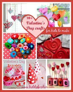 10+ Valentine's Day crafts for kids to make - Kiddie Foodies