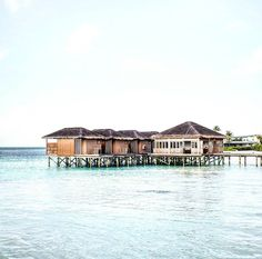 A great shot from our GM @peppecant of Club Med Finolhu Villas