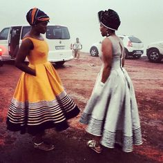 Look at this Classy African style Xhosa Attire, African Attire, African Wear, African Women, African Style, African Print Dresses, African Fashion Dresses, African Dress, African Inspired Fashion