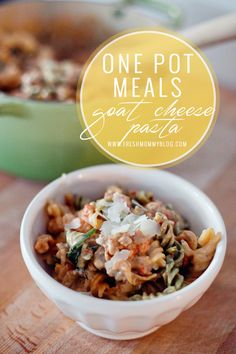 One Pot Meals featur