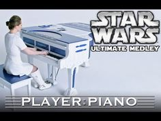 The Ultimate Star Wars Medley on Piano. Composer Sonya Belousova and Director Tom Grey take on John Williams' epic score from a galaxy far, far away. Star Wars, Its A Mans World, Fandoms Unite, Digital Sheet Music, Geek Girls, Theme Song, Songs, Millennium Falcon, Music Sheets
