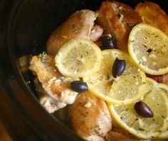 Greek-Style Slow-Cooker Chicken