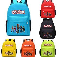 707b5e26ba3 Boys Girls ROBLOX Kids Book Bag Children Travel Backpack School Backpack  Bags - Travel Backpack #