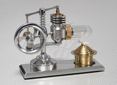 Alpha Type 2 Piston Stirling Engine