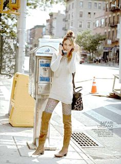 GLAMOUR Spain Editorial - MAILYN Sweater