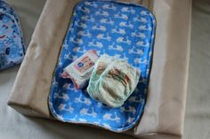 Sew Delicious: Things for Baby Boys (A Virtual Baby Shower) - Baby Change Mat Liners