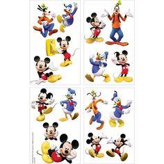 Disney Mickey Mouse Temporary Tattoos