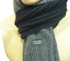 Dolce & Gabbana Mens Knitted Scarf