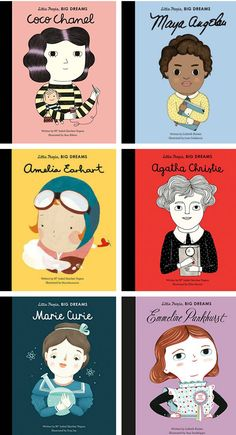 Little People Big Dreams Books.