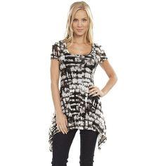 Karen Kane Handkerchief Top ($49) found on Polyvore