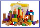 Tidlo 100 Wooden Blocks At Rs.1679