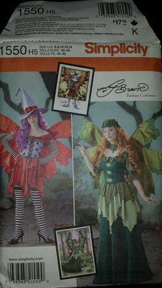 Simplicity Costume, Cosplay, Fairy, Festival, Halloween  size 6 8 10 #Simplicity