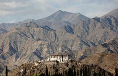 Photos of the Week: 10/8–10/14 - The Atlantic  Stakna monastery catches the evening light near Leh, the largest town in the region of Ladakh, nestled high in the Indian Himalayas, on September 27, 2016. #  Cathal McNaughton / Reuters