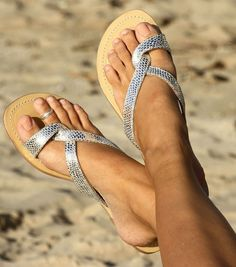 Aspiga Mia Leather Sandal