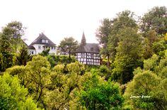 Heisterkapelle von der Fußgängerbrücke Schönstein aus