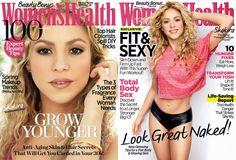 Conheça As Duas Opções De Capa Da Revista Woman's Health Com Shakira. #shakirabrasil #shakira #womanshealth #magazine