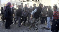 186 نقطة قصف على المدنيين في سوريا خلال 72 ساعة الماضية