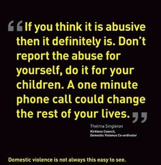 Domestic Violence. Particularly insidious when the narcissist has converted one of his children into a supporter-Stockholm syndrome. Sick. Twisted.